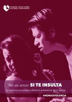 Violencia Psicol+¦gica Afiche